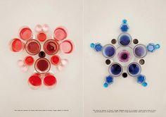 Apartamento issue 4 #glasses #creative #inspiration #liquid #photography #colors #apartamento