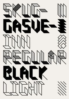 Siggi Eggertsson | Skuggasveinn #design #graphic #typography