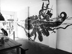 tumblr_lf5atqUEps1qb2fmwo1_500.jpg (Immagine JPEG, 500x375 pixel) #interior #design #graffiti