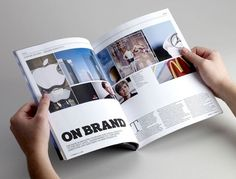 Studio 2br – New Work | September Industry #layout #design #magazine
