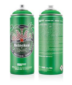Montana x Heineken - spray can