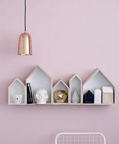 More Design Please #interior #pink #design #gold #skull