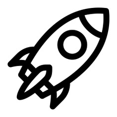 See more icon inspiration related to rocket, project, idea, launch, pencil, transport, innovation, start up, creativity, thinking and transportation on Flaticon.