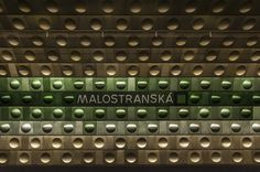 Prague Metro Typography #type #typography