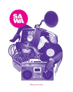 The Hyspanic Gentleman » Blog Archive » Sawa #branding #design #graphic #illustration #typography