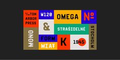 Fold No.21 #typeface #typography #design #typedesing #foldno21 #designinspiration #graphicdesign #modernism #type #degarism #degarismstudio