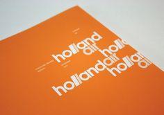 holland air identity / details : corey hall