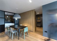 Open Flexible and Dynamic Apartment in Bucharest - InteriorZine #decor #interior #home