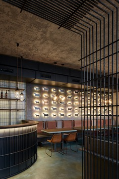 Argentinian Restaurant Gran Fierro by Studio Formafatal