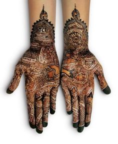 Mehndi #hands #ornaments