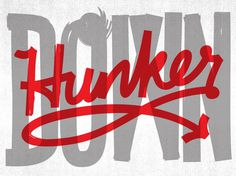 Hunker Down – Jason Wong – Friends of Type #type