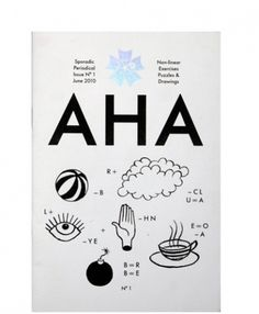 AHA | Hato Press / Bench.li #cover #icons #poster #symbols