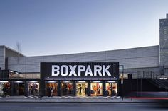 Visuelle.co.uk #boxpark #store exterior