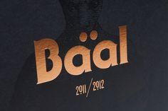 Baal 2011/2012 #print #foil #copper