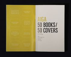 AIGA: 50/50 Collateral : Mimi Jung #books #aiga #covers