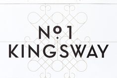 dn&co. | No. 1 Kingsway #logo #identity #branding