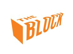 The Block logo, Widgets & Stone, Chattanooga, TN #logo #urban #orange #climbing #chattanooga #widgetsstone #the block #ben dicks #paul rusta
