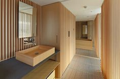 Japan-Kyoto-Kokusai-Hotel-Bathroom-by-Kengo-Kuma-and-Associates.jpg (1350×900) #interior #japanese #design #achitecture #minimal #kyoto
