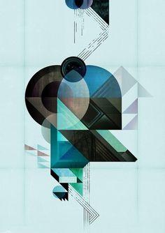 Kasper Pyndt Studio #geometric #poster