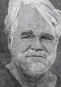 movie, actor, sketch, portrait, pencil, drawing, illustration