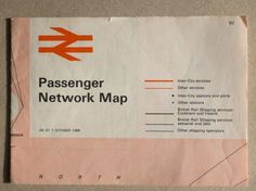 WANKEN - The Blog of Shelby White » 1968 British Railway Passenger Network map #british #map #1960s #rail #vintage