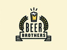 Beer Brothers #mark #illustration #brothers #beers