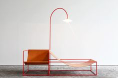 zetel #furniture #lamp #chair #metal
