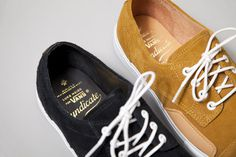 """syndicate"" vans classic leather"