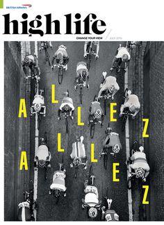 magazine, cover, typography