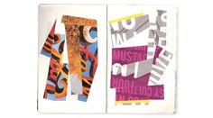 The Work of Amanda Morante #collage #sketch