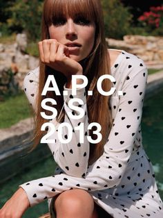 A.P.C Pre collection S/S13 #clothes