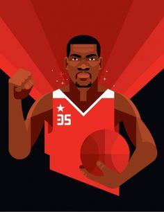 NIKE All-Star Week - Always With Honor #illustration #nike #basketball #campaign