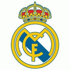 Real Madrid Primary Logo () #type #spain #soccer #crest #sports