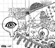Eye from the Mars See more in :http://markermalisum.blogspot.hk/ #alien #mars