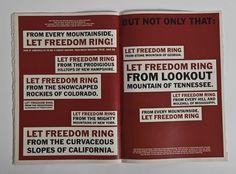 Martin Luther King   Emmanuel Cook #emmanuel #design #graphic #newspaper #luther #editorial #cook #martin #king