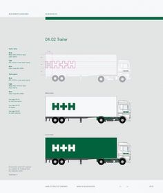 Corporate & Brand Identity - H+H International, Denmark on the Behance Network