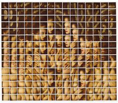 Polaroid Mosaics by Maurizio Galimberti | PICDIT #photos #photo #photography #mosaic #art