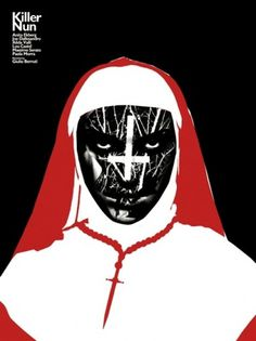 KILLER_NUN_FINAL.jpg 500×667 pixels #movie #white #red #black #religion #nun #poster