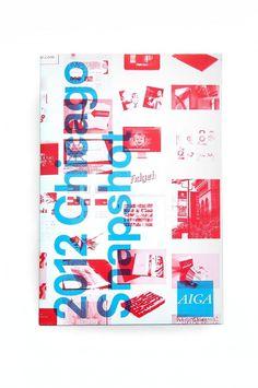 AIGA Snapshot Book | Scott Reinhard #overprint #print
