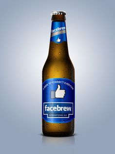 Facebrew: A beer to connect everyone! #facebook #facebrew