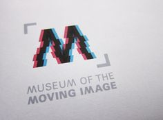 Museum of the Moving Image (Student Branding Project) on Behance #logo #design #branding