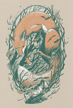 Enclothe Into the Thicket The Art of Brian Luong #print #illustration