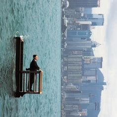 The Surreal World of Philippe Ramette | 123 Inspiration #surreal #series #photographer