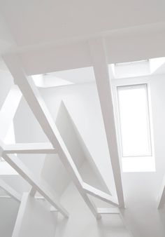 Skylights. Copenhagen Townhouse I by Norm.Architects. #skylight #attic #normarchitects #minimal