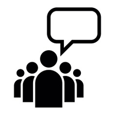 See more icon inspiration related to leadership, leader, group, people, talking, speech bubble, empty, business and persons on Flaticon.