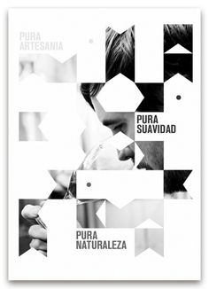 Pureza #beer #design #graphic #puzzle #cerveza #pieces #poster #pure