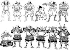Samurai-armor-2.jpg (image) #samurai #preparing #illustration #armour