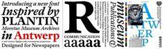 Playtype | Antwerp #antwerp #font #typography