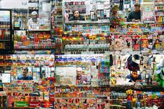 NYC Newsstands: Urban Photo Series by Nei Valente