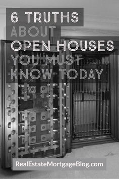 6 Truths About Open Houses You Must Know Today